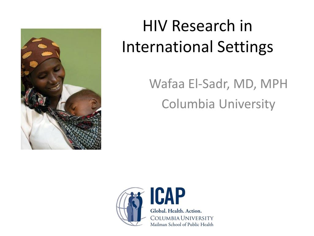 HIV Research in International Settings