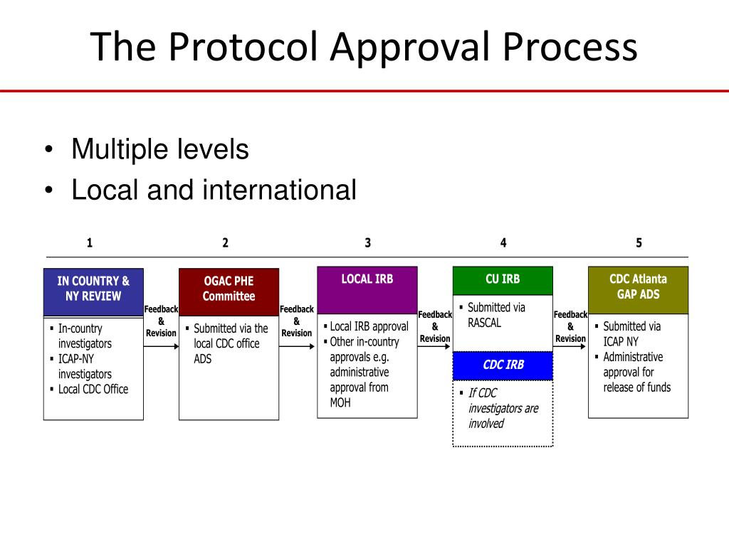 The Protocol Approval Process