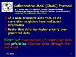 collaborative mac cmac protocol