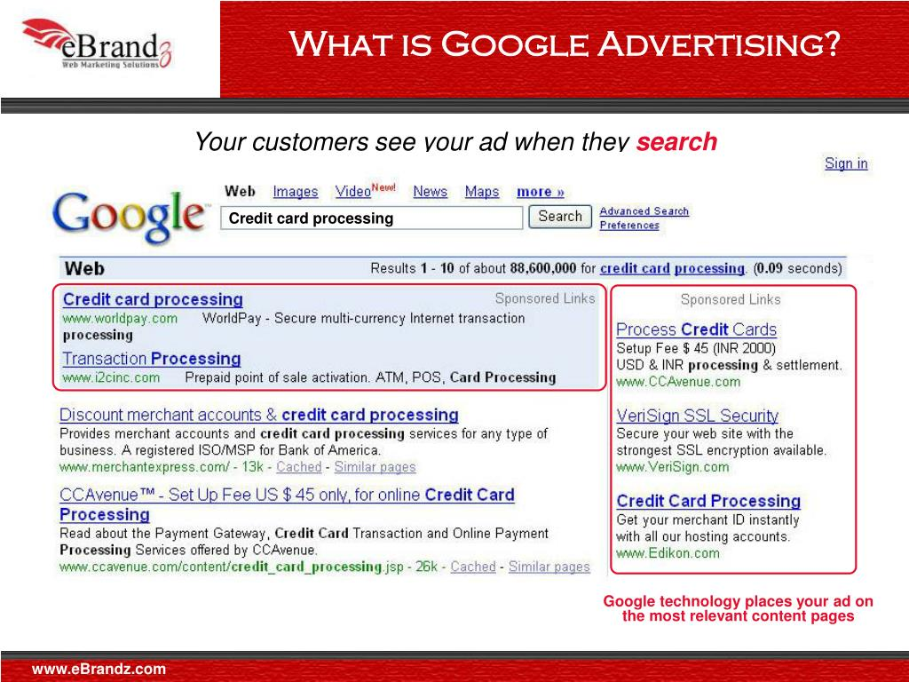 What is Google Advertising?