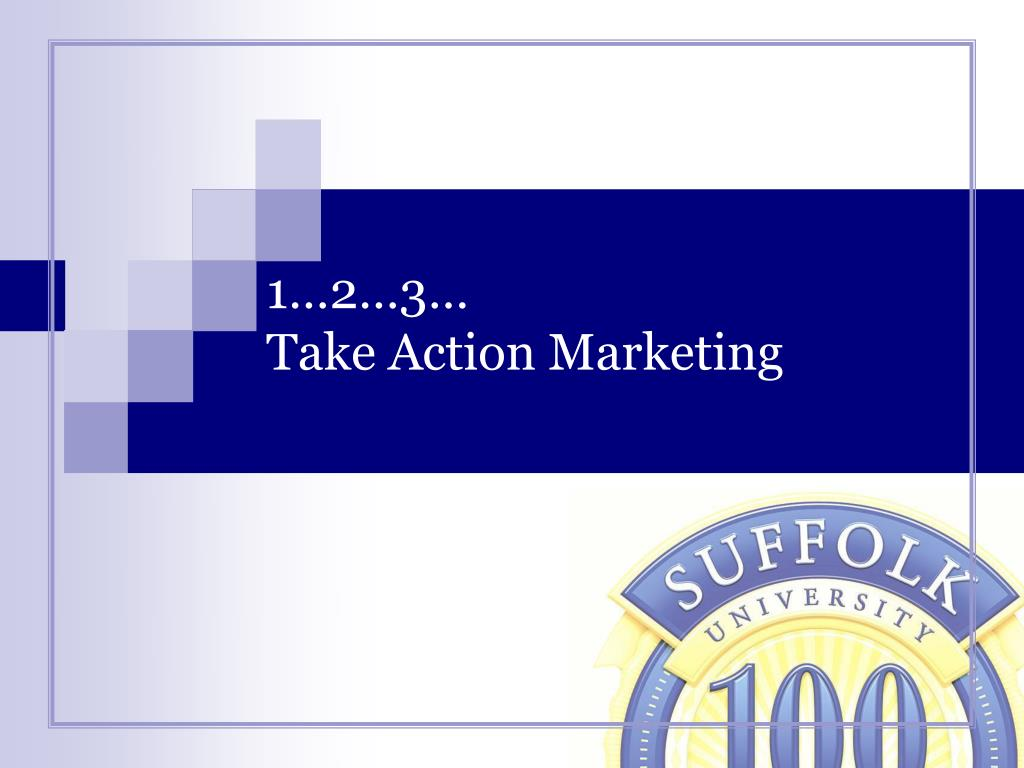 1 2 3 take action marketing l.