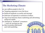 the marketing climate