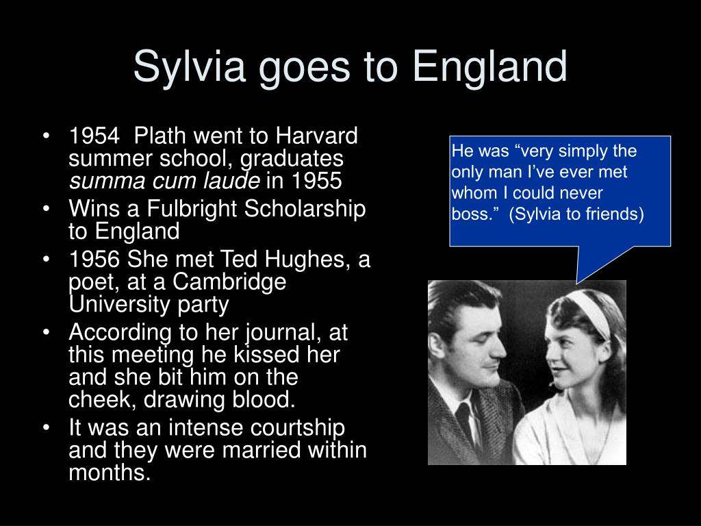 Sylvia goes to England
