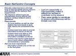 basic netcentric concepts8
