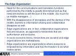 the edge organization10