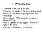 1 preprocessor