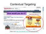 contextual targeting74