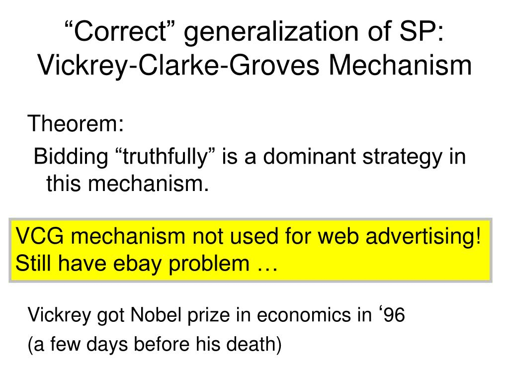 """Correct"" generalization of SP:"