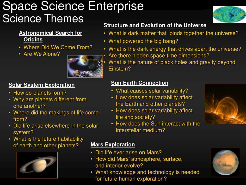 Space Science Enterprise