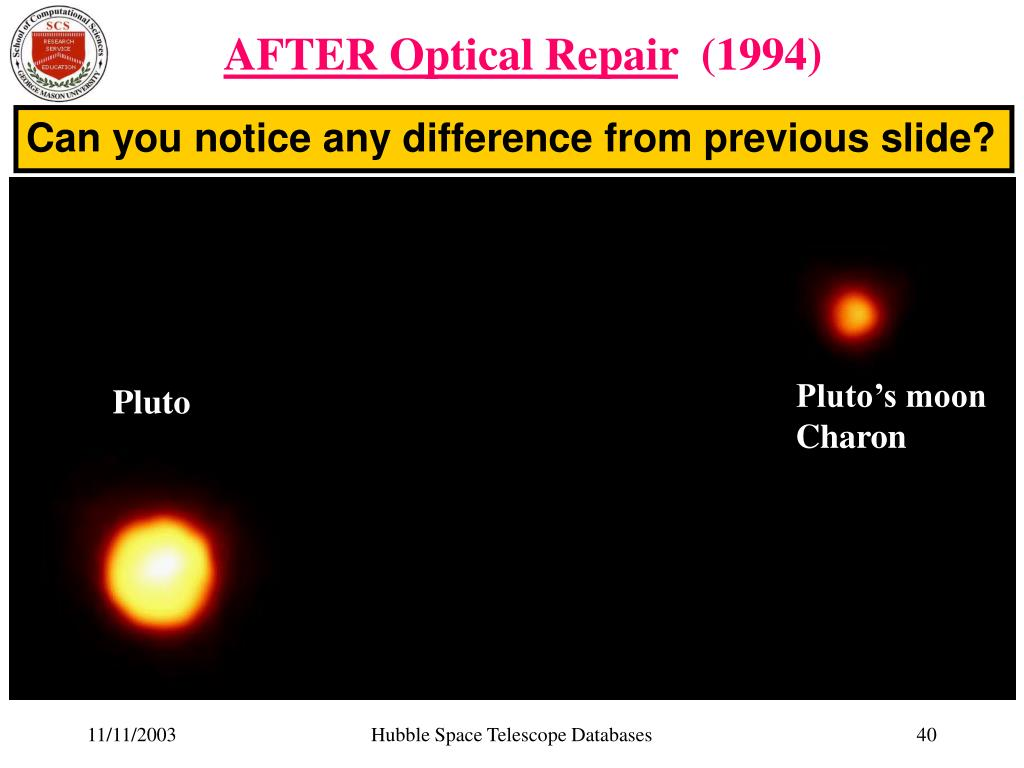 AFTER Optical Repair