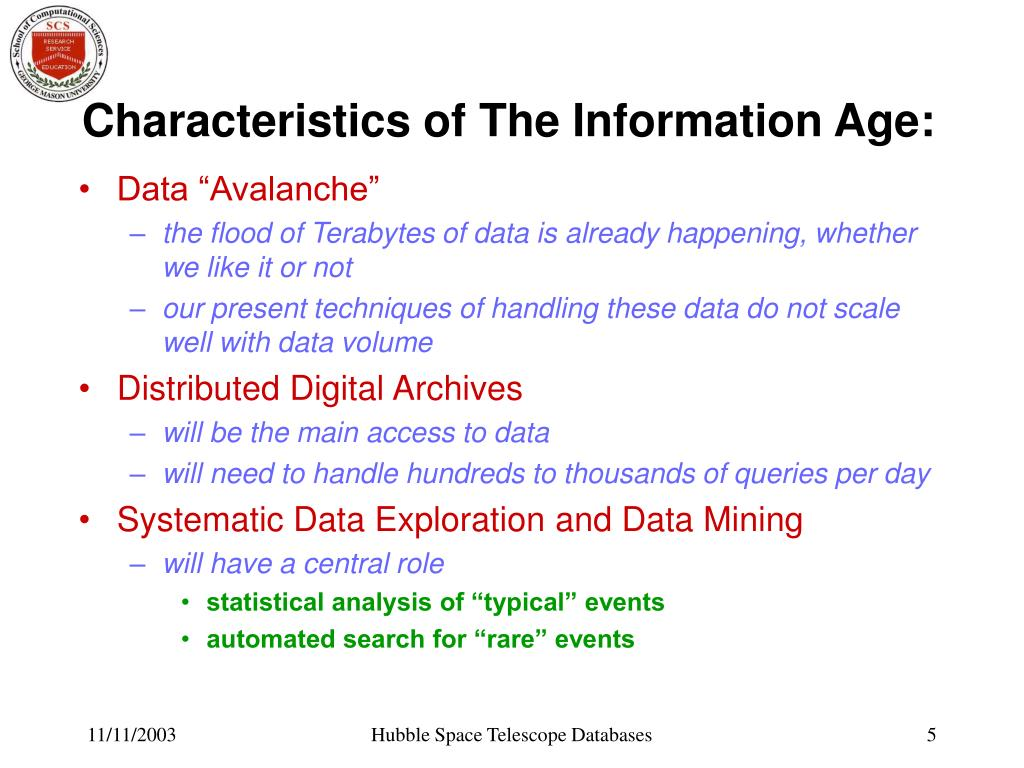 Characteristics of The Information Age: