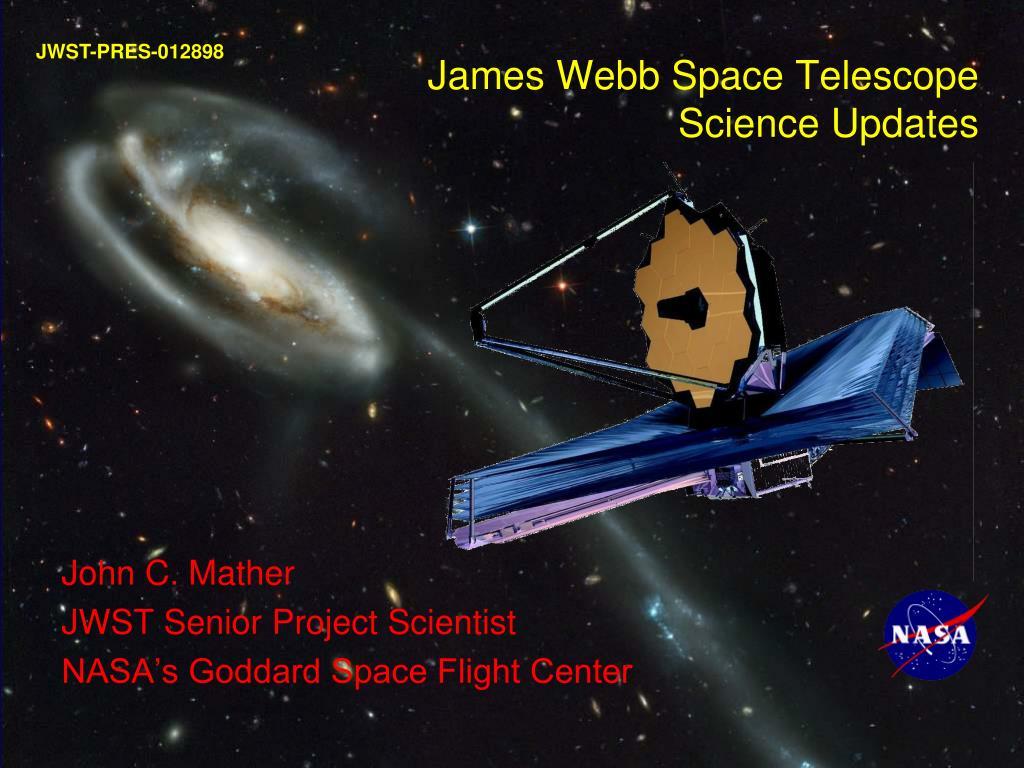 james webb space telescope science updates l.