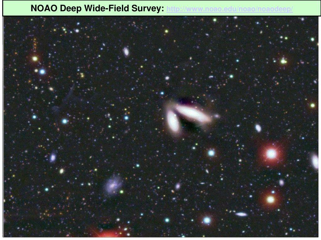 NOAO Deep Wide-Field Survey: