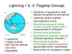 lightning 1 2 flagship concept