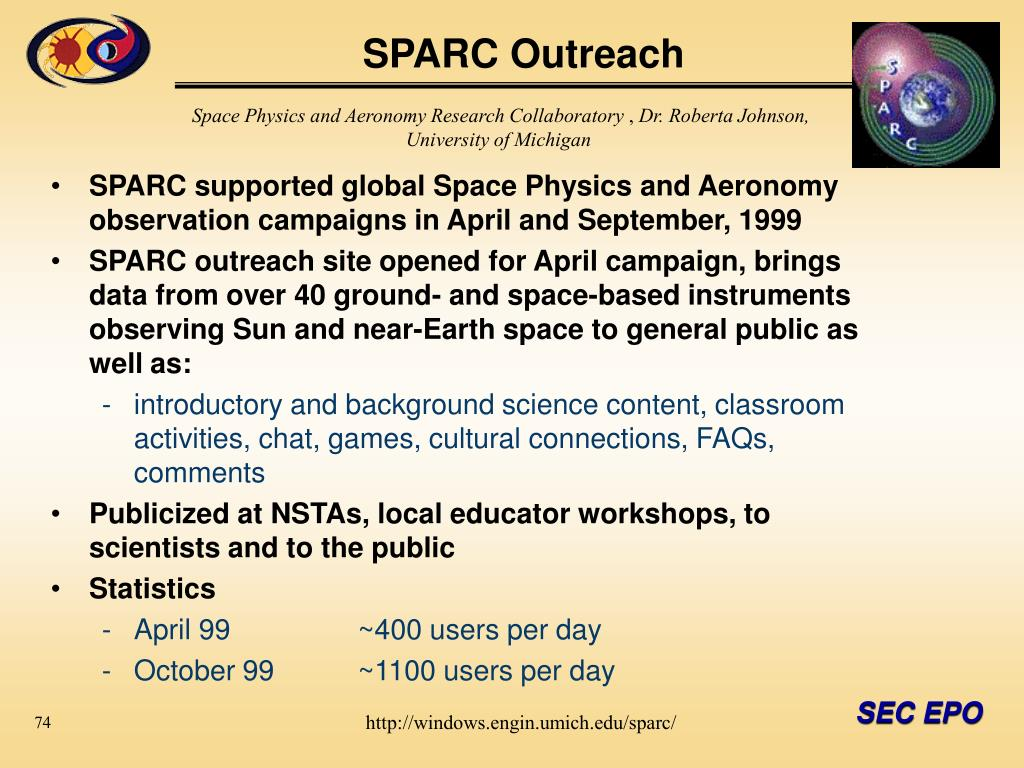 SPARC Outreach