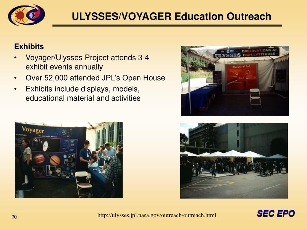 ULYSSES/VOYAGER Education Outreach
