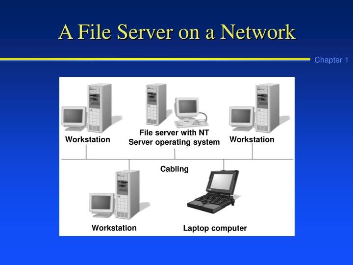 A File Server on a Network