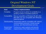 original windows nt development goals1