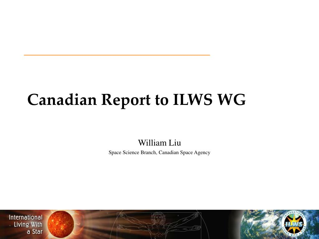 canadian report to ilws wg l.