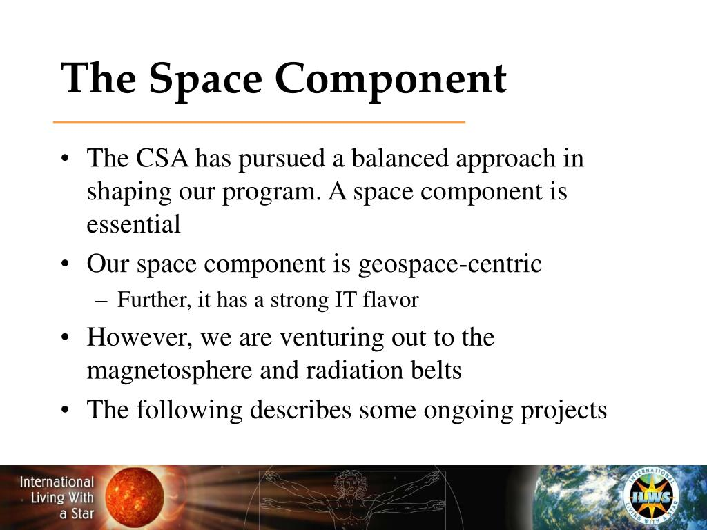 The Space Component