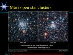 more open star clusters