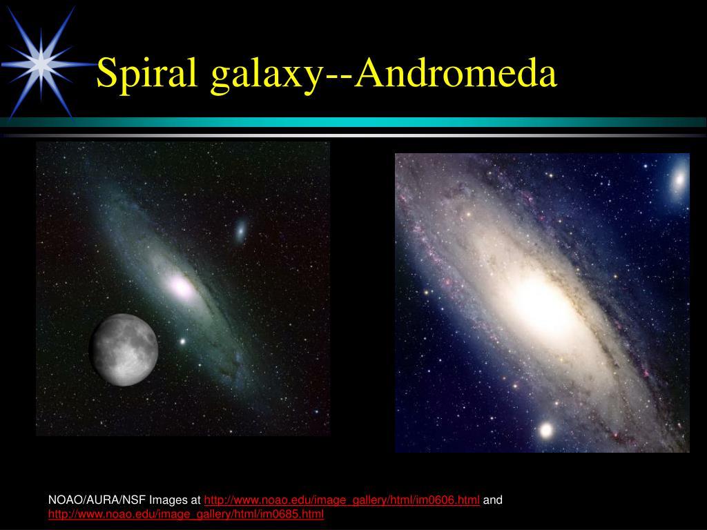 Spiral galaxy--Andromeda