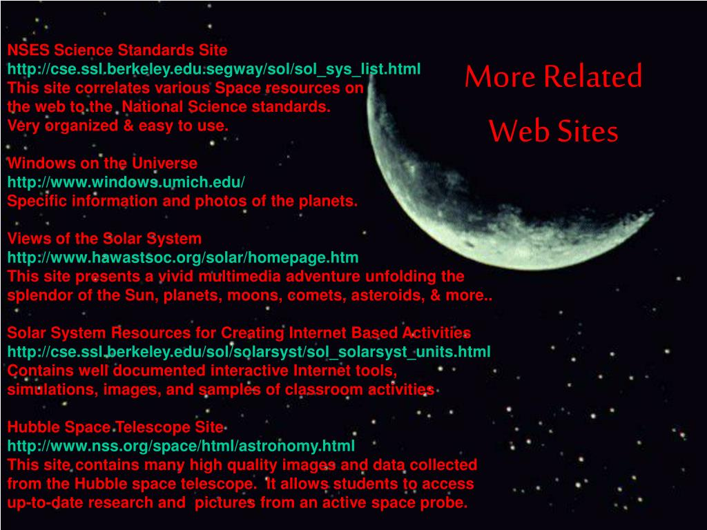 NSES Science Standards Site