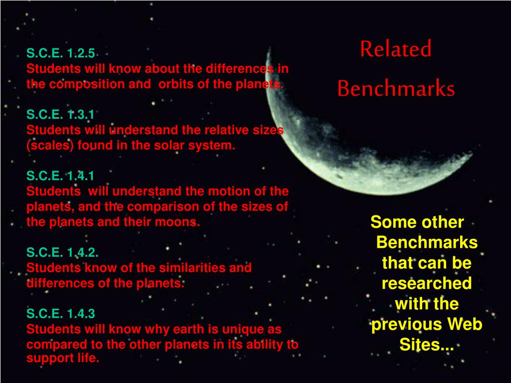 Related Benchmarks