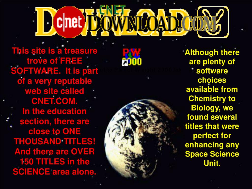 This site is a treasure trove of FREE SOFTWARE.  It is part of a very reputable web site called CNET.COM.