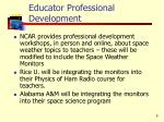 educator professional development