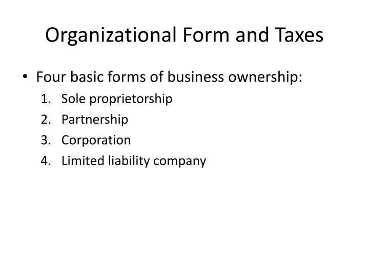 the sole proprietorship and partnership form marketing essay Business ownershipthere are three different forms of business ownership, the sole proprietorship, the partnership, and the corporation each of these businesses have major advan  tnership, and the corporation.