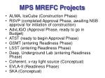 mps mrefc projects