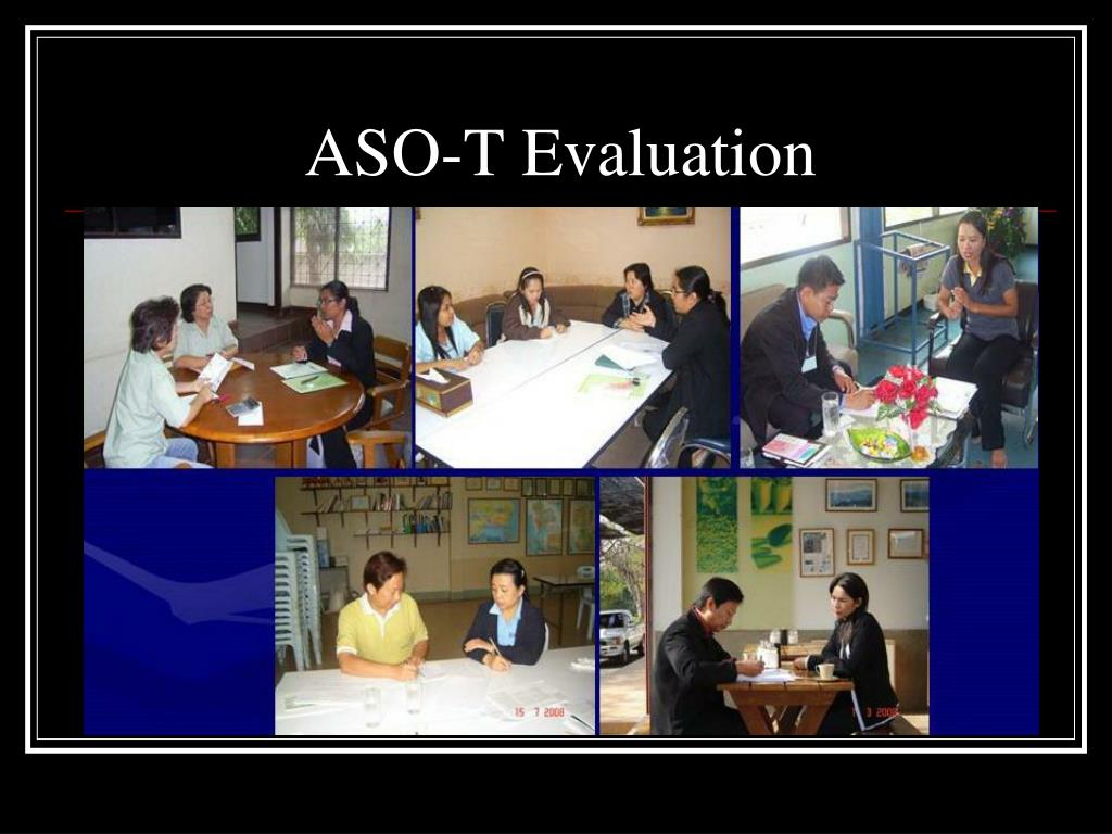 ASO-T Evaluation