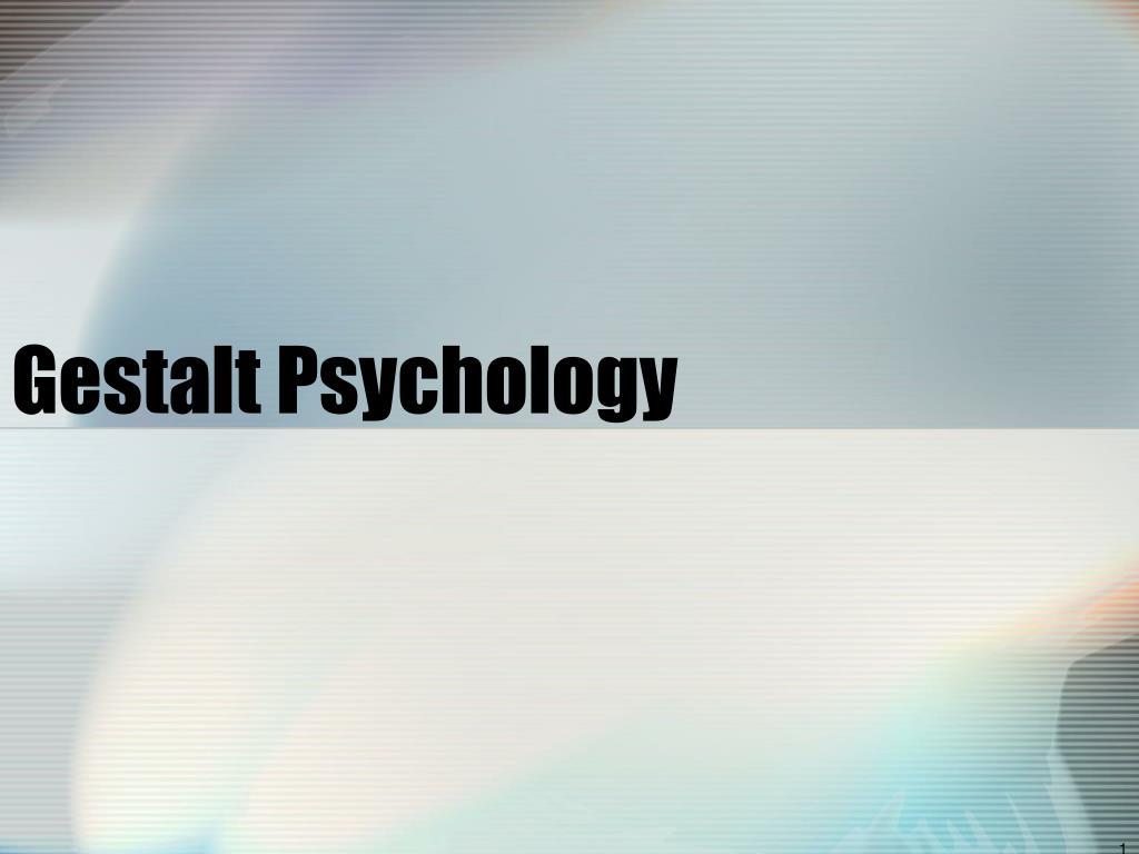 gestalt psychology l.