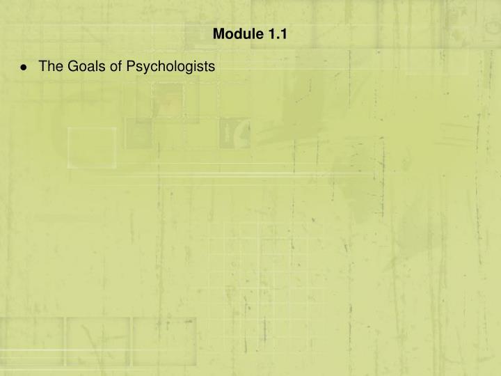 Module 1 1