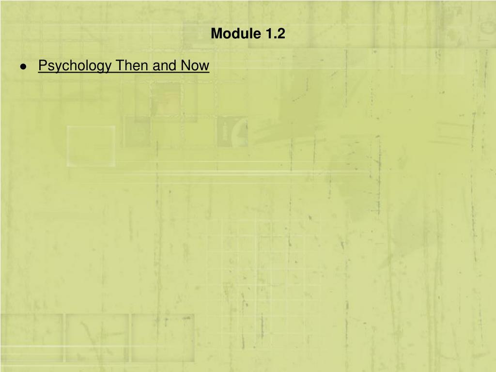 Module 1.2