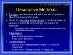 descriptive methods16