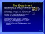 the experiment23