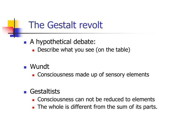 The gestalt revolt3