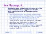 key message 1