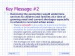 key message 2