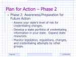 plan for action phase 2