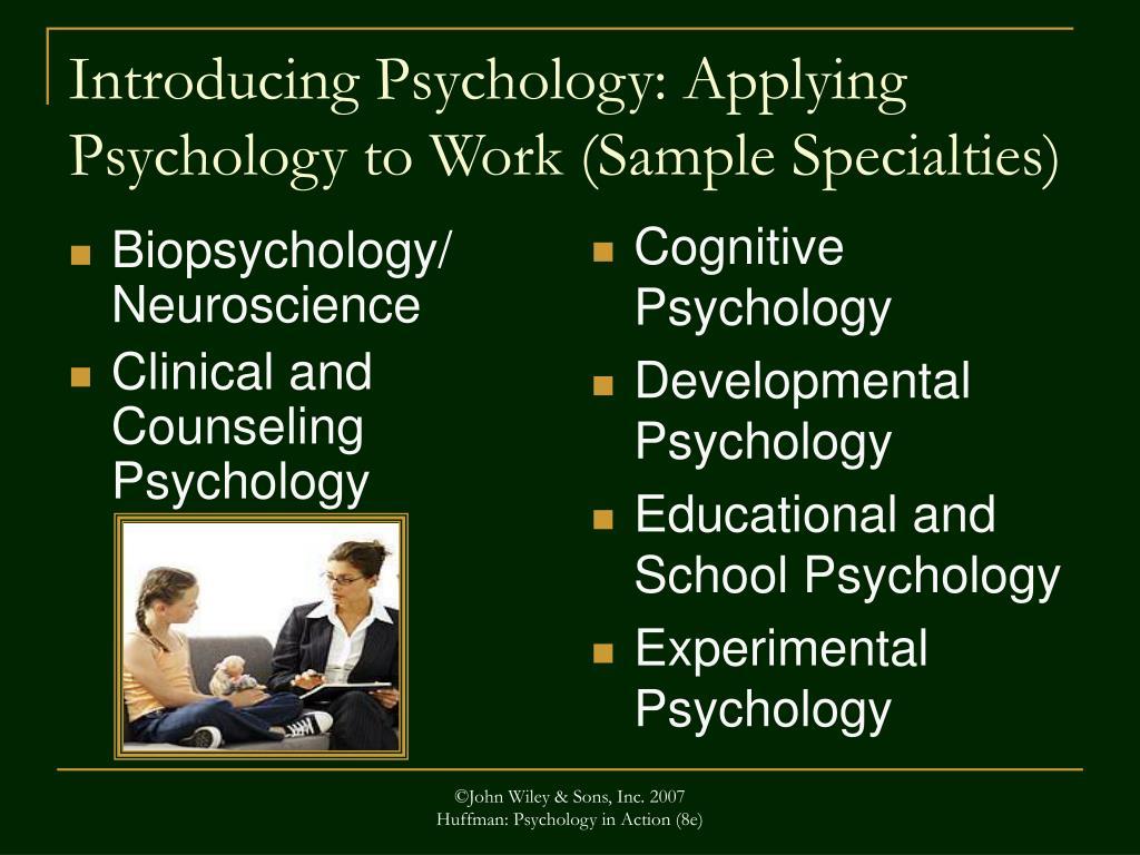 Biopsychology/ Neuroscience