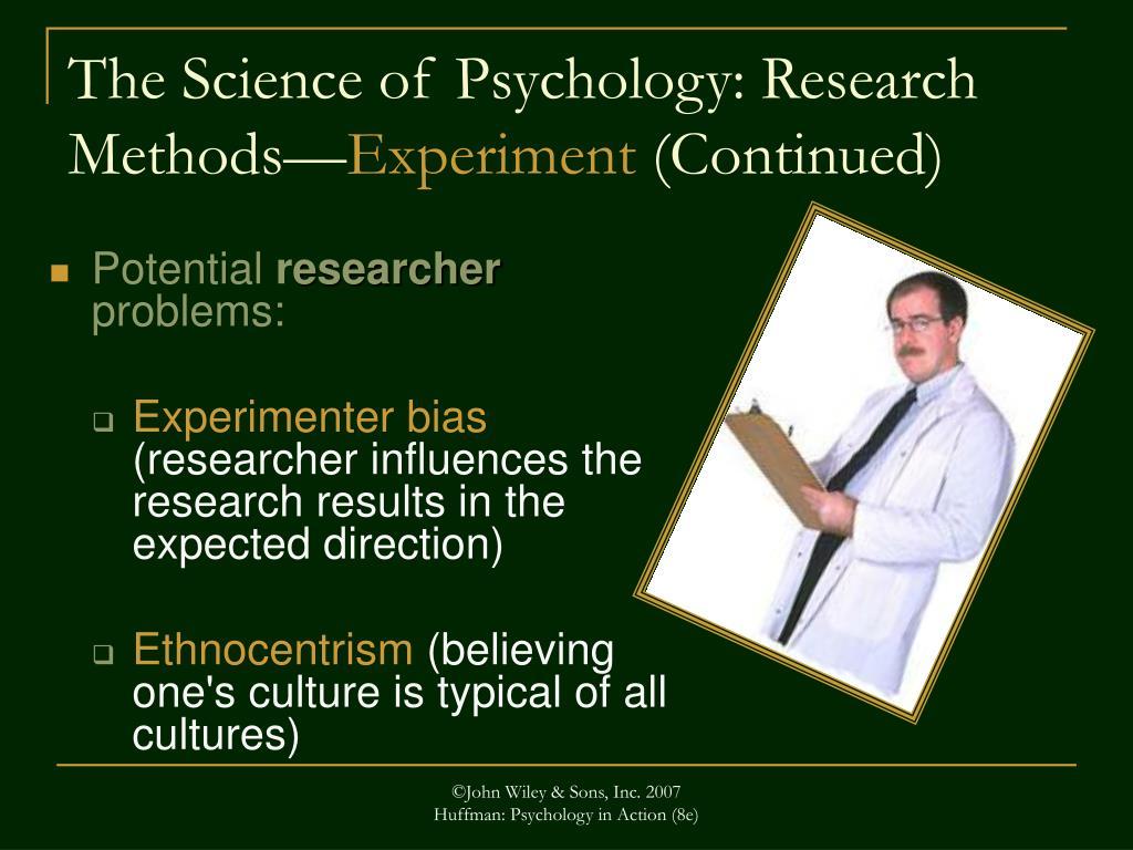 The Science of Psychology: Research Methods—