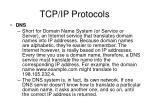 tcp ip protocols5