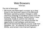 web browsers netscape3
