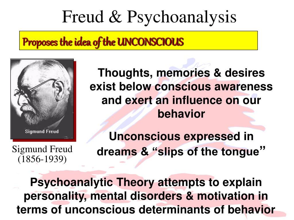 Freud & Psychoanalysis