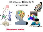 influence of heredity environment