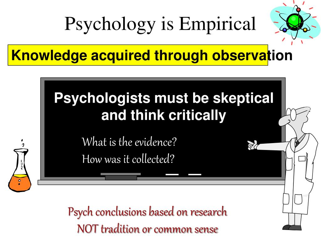Psychologists must be skeptical