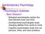 contemporary psychology11